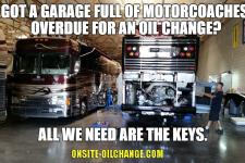 bus oil change phoenix