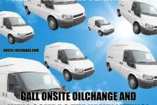 Fleet of vehicles flying high with OnSite OilChange