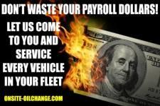 OnSite OilChange can handle your fleet maintenance