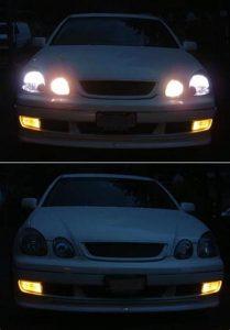 Lights on vs lights off